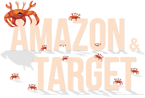 Crabs on Amazon and in Target