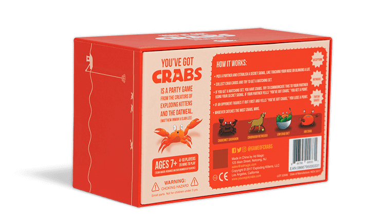 You've Got Crabs, the Game